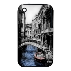 Vintage Venice Canal Apple iPhone 3G/3GS Hardshell Case (PC+Silicone)
