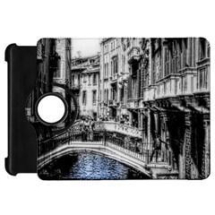 Vintage Venice Canal Kindle Fire HD 7  (1st Gen) Flip 360 Case