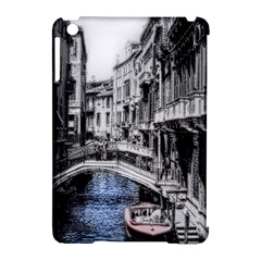 Vintage Venice Canal Apple Ipad Mini Hardshell Case (compatible With Smart Cover)