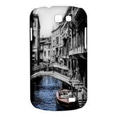 Vintage Venice Canal Samsung Galaxy Express I8730 Hardshell Case