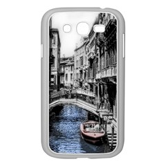 Vintage Venice Canal Samsung Galaxy Grand DUOS I9082 Case (White)