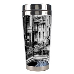 Vintage Venice Canal Stainless Steel Travel Tumbler