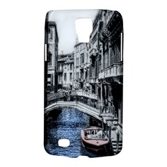 Vintage Venice Canal Samsung Galaxy S4 Active (I9295) Hardshell Case