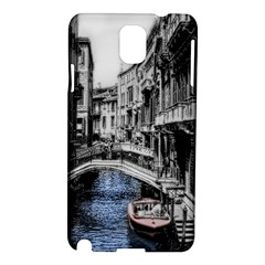 Vintage Venice Canal Samsung Galaxy Note 3 N9005 Hardshell Case