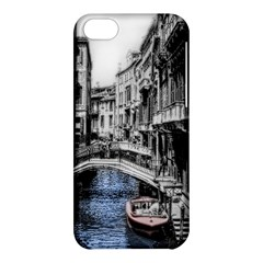 Vintage Venice Canal Apple iPhone 5C Hardshell Case