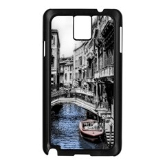 Vintage Venice Canal Samsung Galaxy Note 3 N9005 Case (Black)
