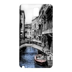 Vintage Venice Canal Samsung Galaxy Note 3 N9005 Hardshell Back Case
