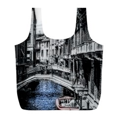 Vintage Venice Canal Reusable Bag (L)