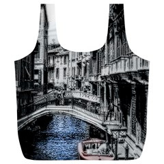 Vintage Venice Canal Reusable Bag (XL)