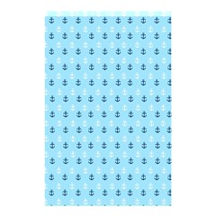 Anchors in Blue and White Shower Curtain 48  x 72  (Small)