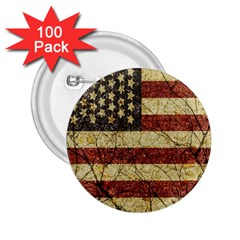 Vinatge American Roots 2 25  Button (100 Pack)