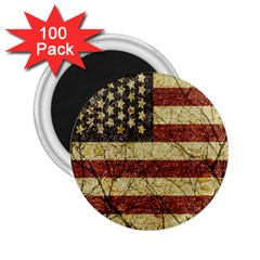 Vinatge American Roots 2.25  Button Magnet (100 pack)