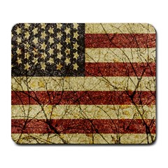 Vinatge American Roots Large Mouse Pad (Rectangle)