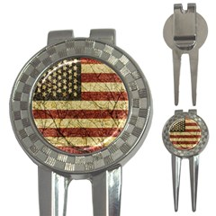 Vinatge American Roots Golf Pitchfork & Ball Marker