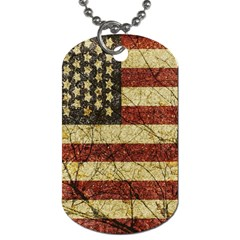 Vinatge American Roots Dog Tag (One Sided)
