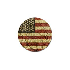 Vinatge American Roots Golf Ball Marker 4 Pack