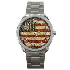 Vinatge American Roots Sport Metal Watch