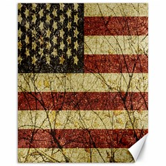 Vinatge American Roots Canvas 16  X 20  (unframed)