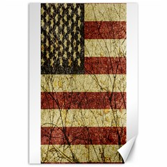 Vinatge American Roots Canvas 20  X 30  (unframed)