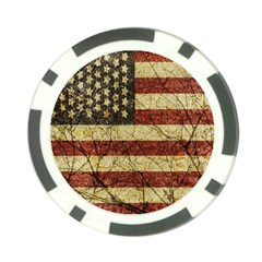 Vinatge American Roots Poker Chip