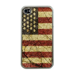 Vinatge American Roots Apple Iphone 4 Case (clear)