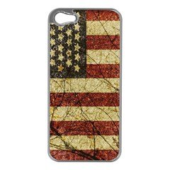 Vinatge American Roots Apple Iphone 5 Case (silver)