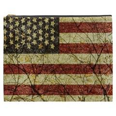 Vinatge American Roots Cosmetic Bag (XXXL)
