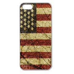 Vinatge American Roots Apple Seamless Iphone 5 Case (clear)