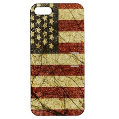 Vinatge American Roots Apple Iphone 5 Hardshell Case With Stand