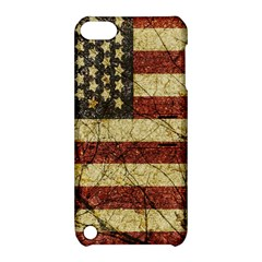 Vinatge American Roots Apple Ipod Touch 5 Hardshell Case With Stand