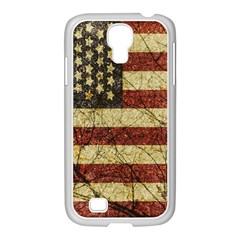 Vinatge American Roots Samsung GALAXY S4 I9500/ I9505 Case (White)