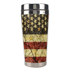 Vinatge American Roots Stainless Steel Travel Tumbler