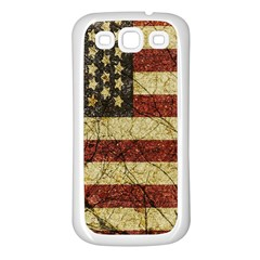 Vinatge American Roots Samsung Galaxy S3 Back Case (white)
