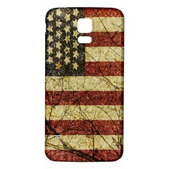 Vinatge American Roots Samsung Galaxy S5 Back Case (White)