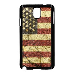 Vinatge American Roots Samsung Galaxy Note 3 Neo Hardshell Case (Black)