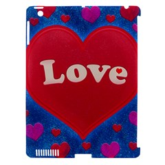 Love Theme Concept  Illustration Motif  Apple Ipad 3/4 Hardshell Case (compatible With Smart Cover)