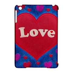 Love Theme Concept  Illustration Motif  Apple Ipad Mini Hardshell Case (compatible With Smart Cover)