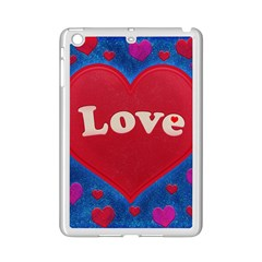 Love theme concept  illustration motif  Apple iPad Mini 2 Case (White)