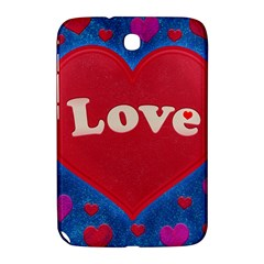 Love theme concept  illustration motif  Samsung Galaxy Note 8.0 N5100 Hardshell Case
