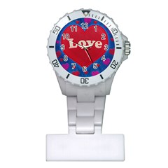 Love theme concept  illustration motif  Nurses Watch