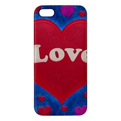 Love theme concept  illustration motif  iPhone 5S Premium Hardshell Case