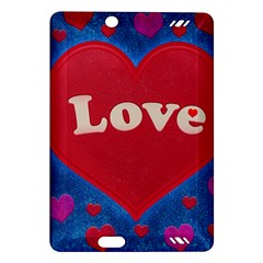 Love theme concept  illustration motif  Kindle Fire HD 7  (2nd Gen) Hardshell Case