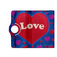 Love Theme Concept  Illustration Motif  Kindle Fire Hdx 8 9  Flip 360 Case