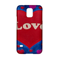 Love theme concept  illustration motif  Samsung Galaxy S5 Hardshell Case