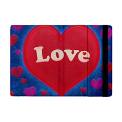 Love Theme Concept  Illustration Motif  Apple Ipad Mini 2 Flip Case