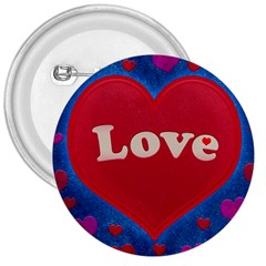Love theme concept  illustration motif  3  Button