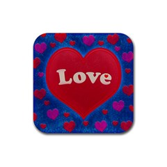 Love theme concept  illustration motif  Drink Coaster (Square)