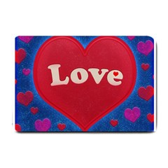Love theme concept  illustration motif  Small Door Mat