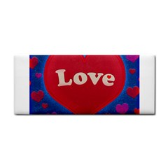 Love theme concept  illustration motif  Hand Towel