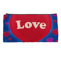 Love Theme Concept  Illustration Motif  Pencil Case